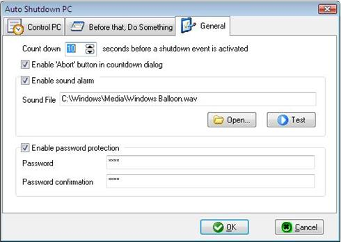 Auto Shutdown PC, Software Utilities Screenshot