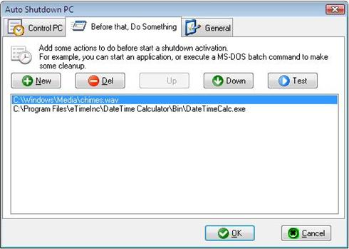 Auto Shutdown PC, Auto Shutdown Software Screenshot
