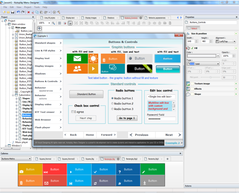 Business & Finance Software, Autoplay Menu Designer Business License Screenshot
