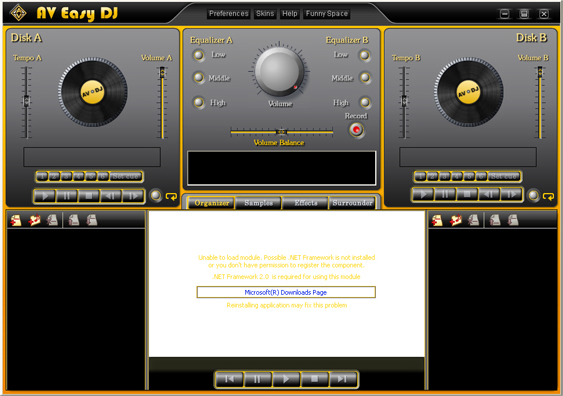 Recording Studio Software, AV Music Morpher Gold Screenshot