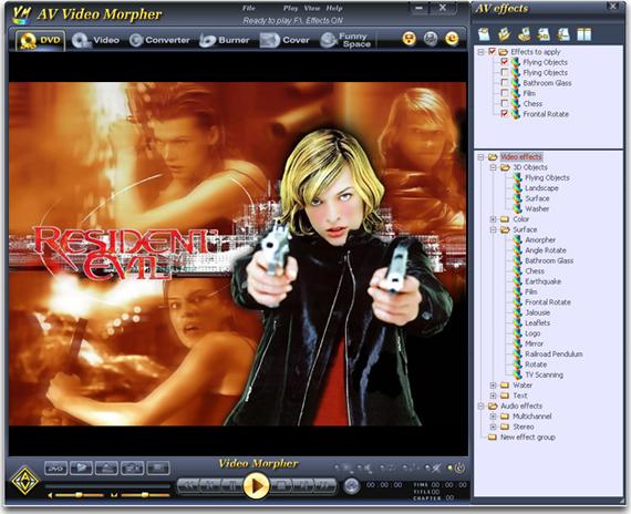 AV Video Morpher Screenshot