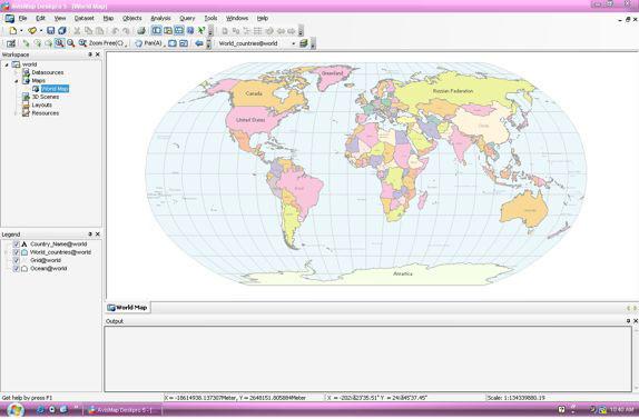 AvisMap Deskpro Screenshot
