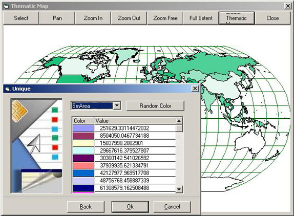 AvisMap GIS Engine Screenshot