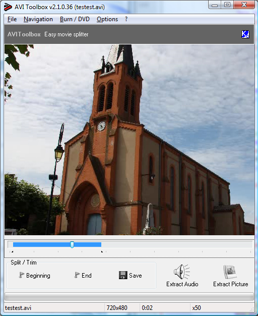 AVIToolbox Screenshot