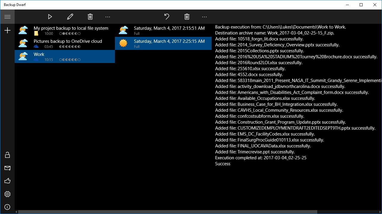 Backup Dwarf - Lifetime Unlock License For All Clouds Screenshot