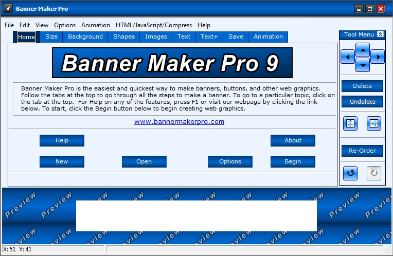 Banner Maker Pro Version 9 Screenshot
