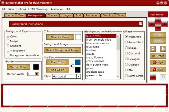 Banner Maker Pro for Flash Screenshot