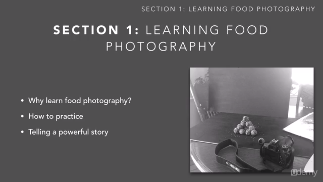 Hobby, Educational & Fun Software, Basic Food Photography Screenshot