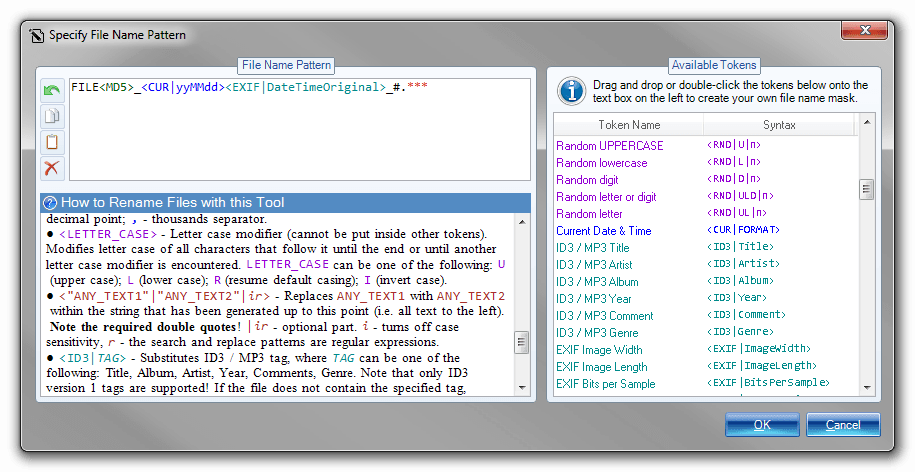 Batch File Rename, Software Utilities Screenshot