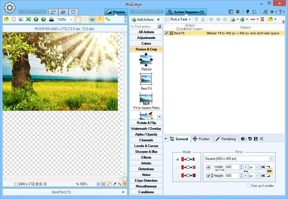 Batch Image Enhancer, Design, Photo & Graphics Software Screenshot