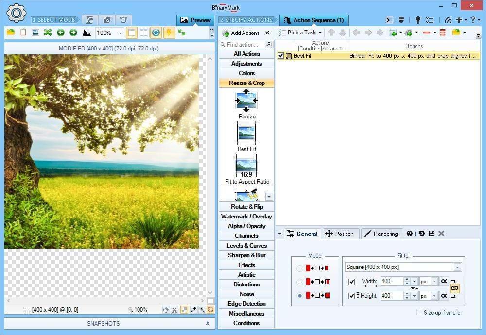 Design, Photo & Graphics Software, Batch Image Resizer Screenshot