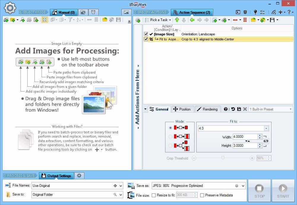 Batch Image Resizer, Design, Photo & Graphics Software, Photo Manipulation Software Screenshot