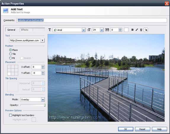 Batch Image Software, BatchBlitz Screenshot