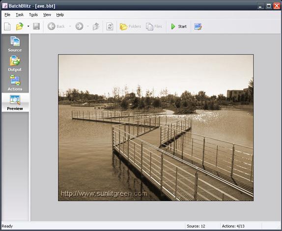 BatchBlitz, Design, Photo & Graphics Software Screenshot