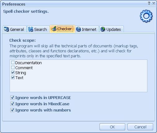 BatchSpellChecker, Code Editor Software Screenshot