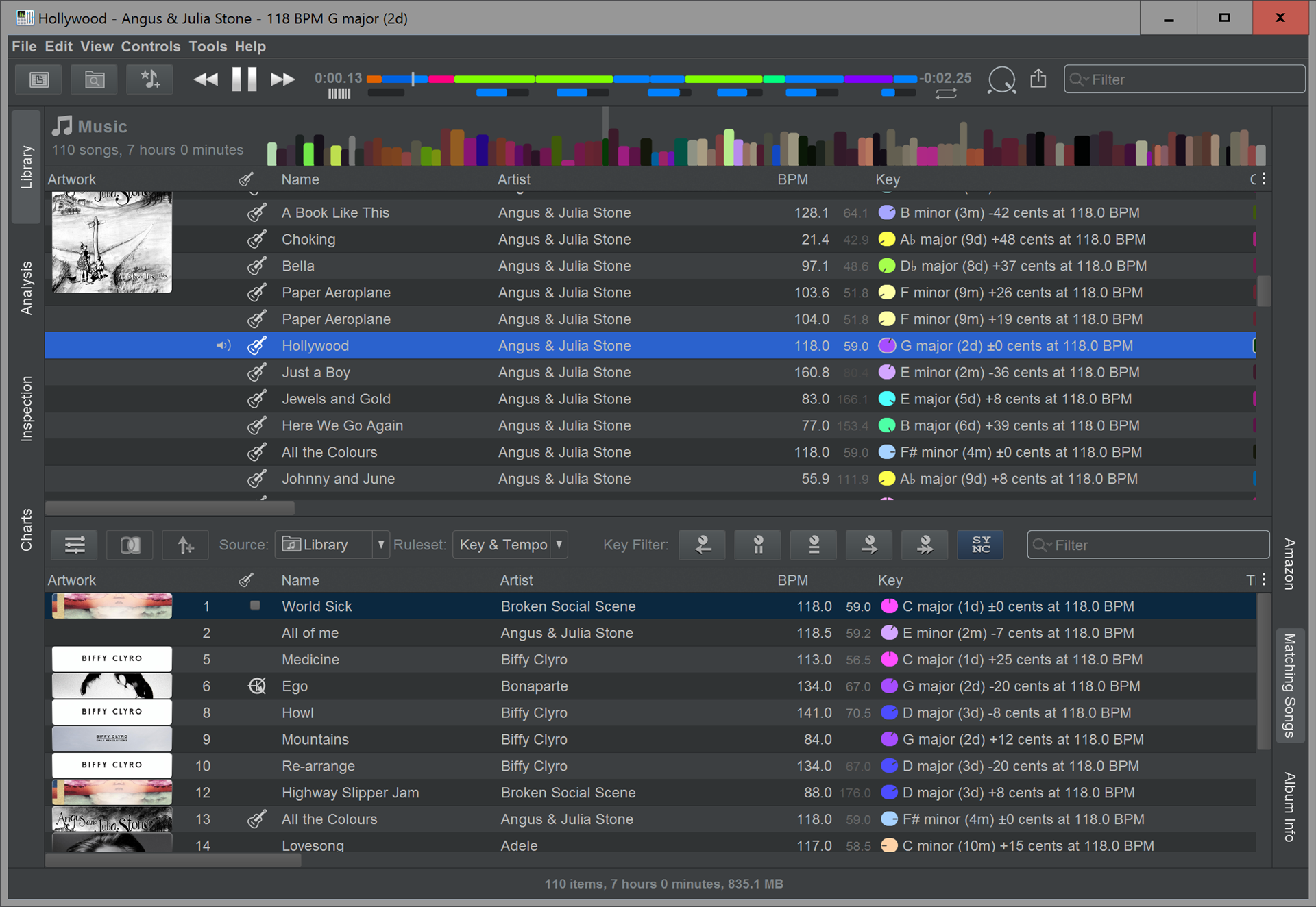 beaTunes, Audio Software Screenshot