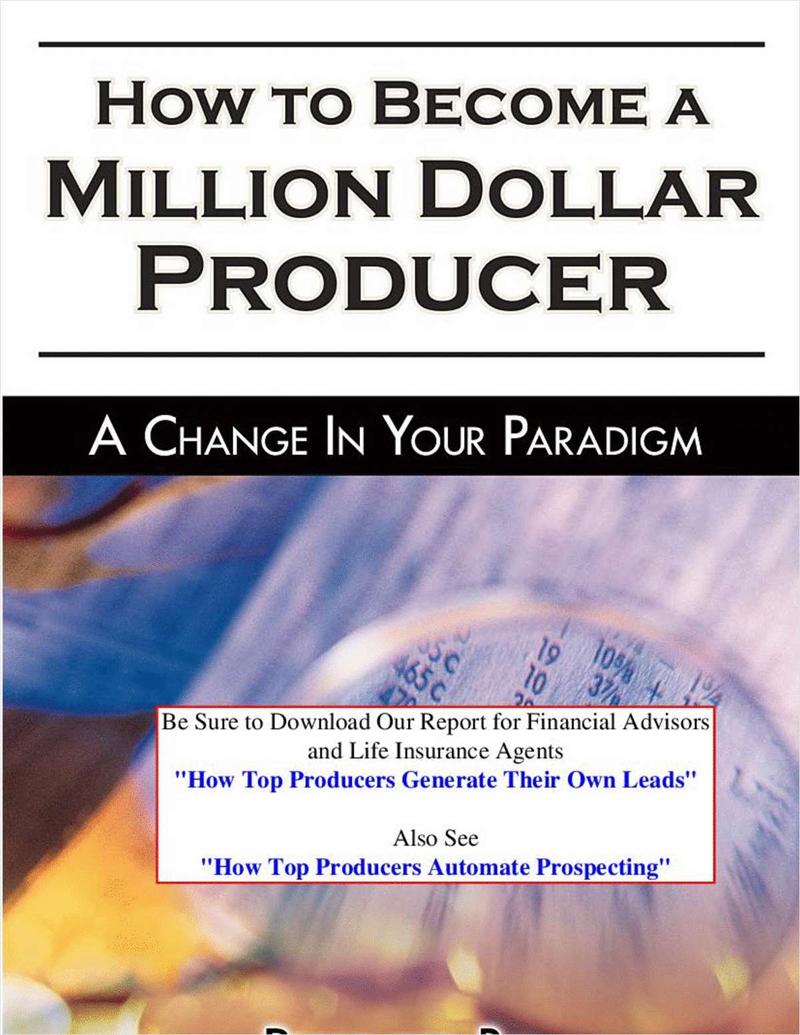 Become a Million Dollar Producer Screenshot