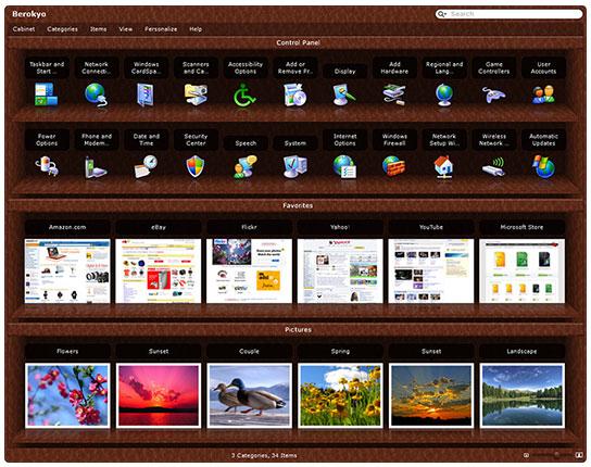 App Launcher Software, Berokyo Screenshot