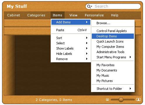 App Launcher Software Screenshot
