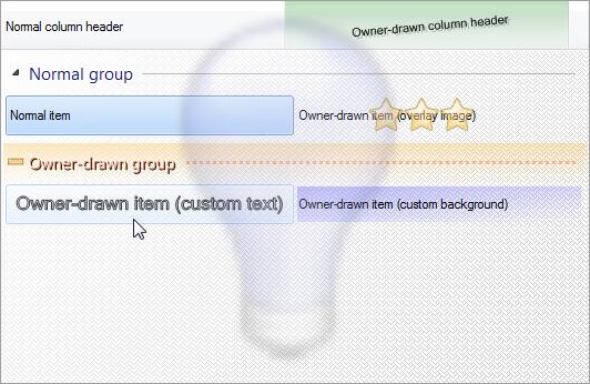 Better ListView, Development Software Screenshot