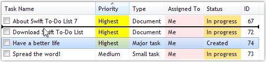Development Tools Software, Better ListView Screenshot