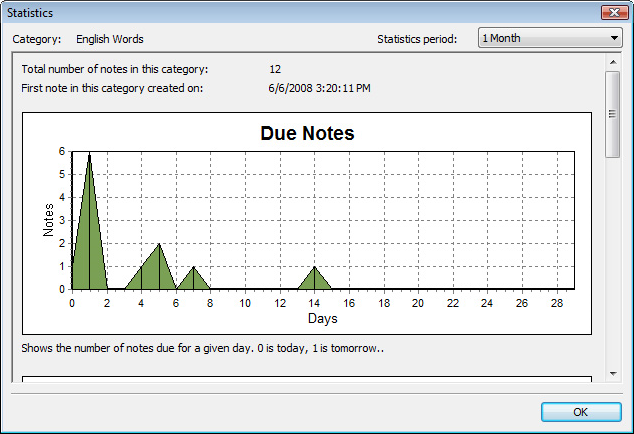 BetterMemo, Educational Software Screenshot