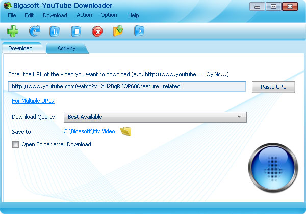 Bigasoft YouTube Downloader - YouTube Downloader Software - 30%