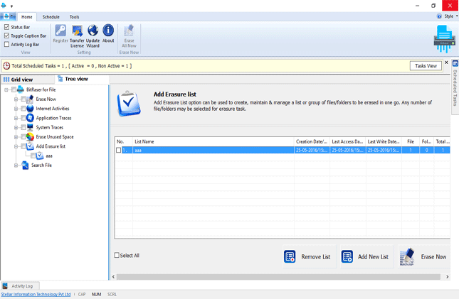Security Software, BitRaser For File Screenshot
