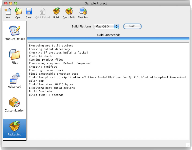 BitRock InstallBuilder, Development Software Screenshot