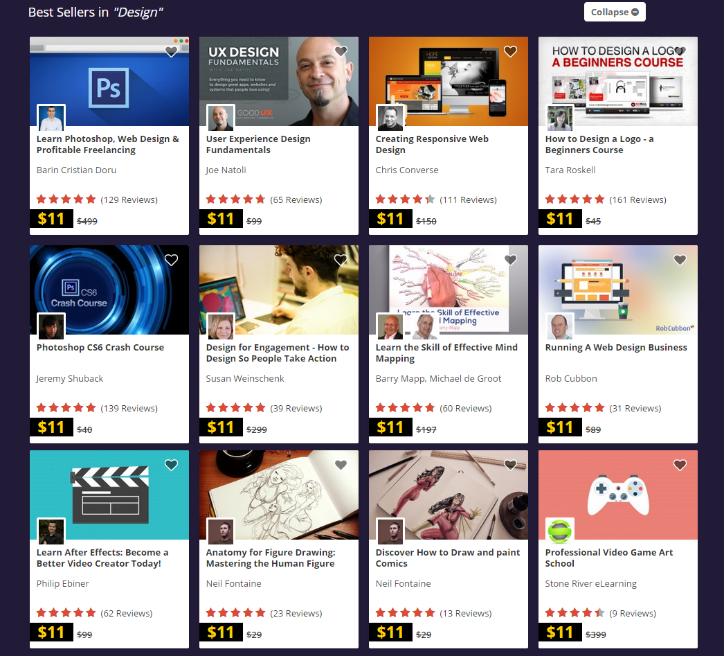 Black Friday – Udemy Courses, Hobby, Educational & Fun Software Screenshot