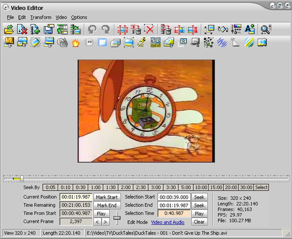Video Software, DVD Studio Software Screenshot