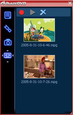 BlazeDVD Professional, Video Software Screenshot