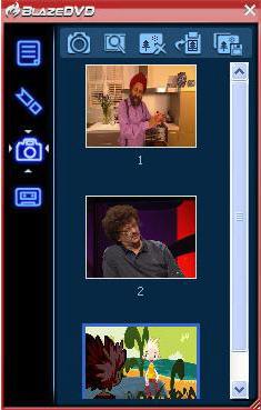 BlazeDVD Professional, Video Player Software Screenshot