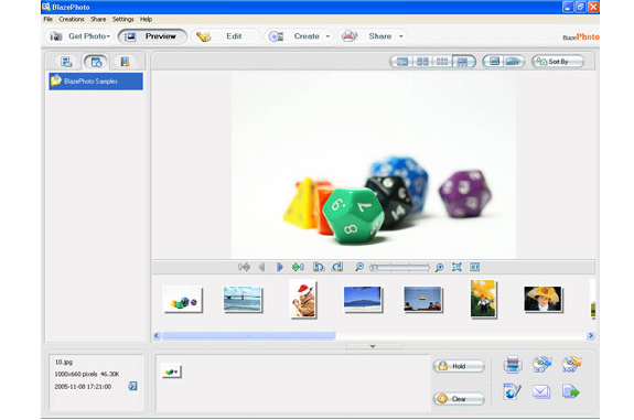 BlazePhoto, Design, Photo & Graphics Software Screenshot