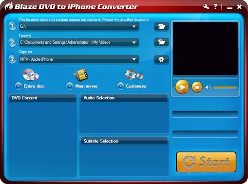 BlazeVideo DVD Ripper, DVD Ripper Software Screenshot