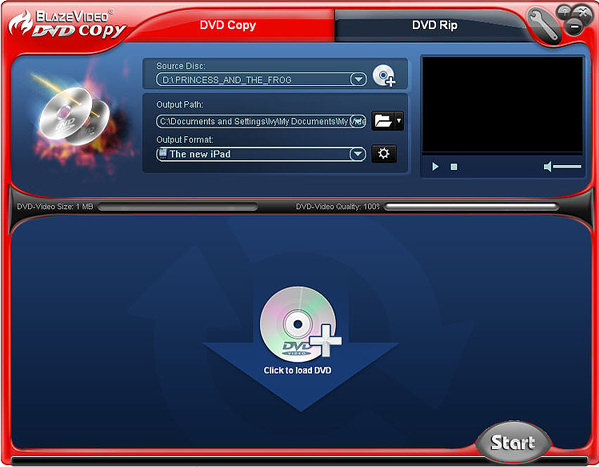 DVD Studio Software, BlazeVideo DVD Studio Screenshot