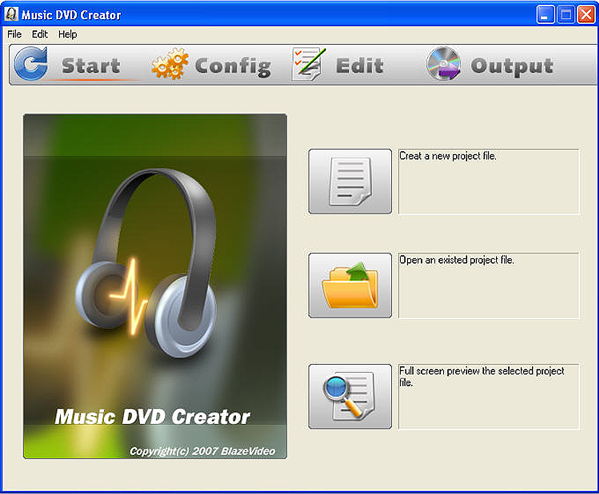 Video Software, BlazeVideo DVD Studio Screenshot