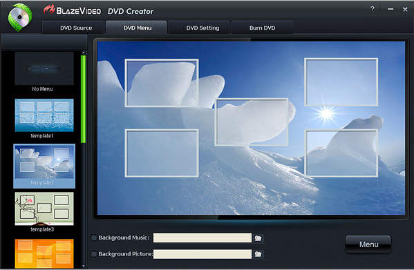 BlazeVideo DVD Studio Screenshot 9