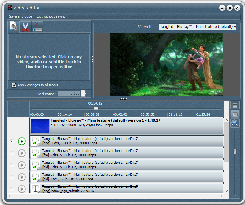 DVD Ripper Software Screenshot
