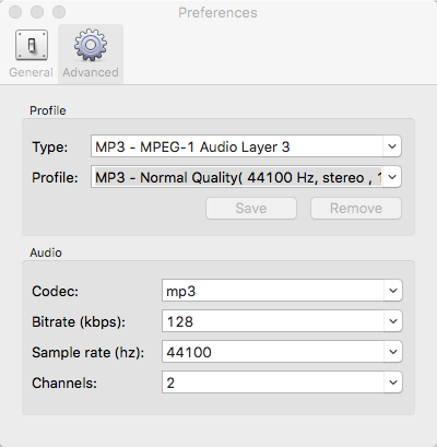 Audio Software, Audio Conversion Software Screenshot