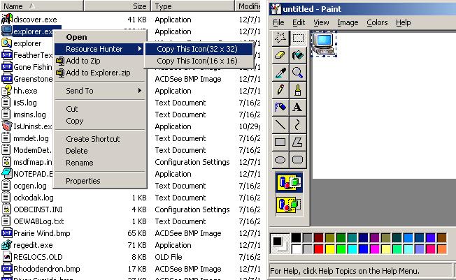 Boilsoft Resource Hunter Screenshot