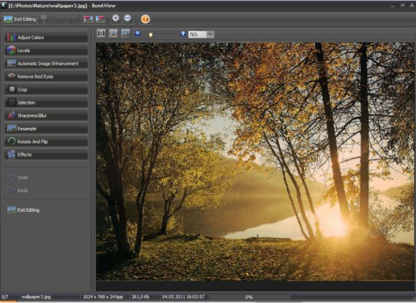 BonAView, Design, Photo & Graphics Software Screenshot