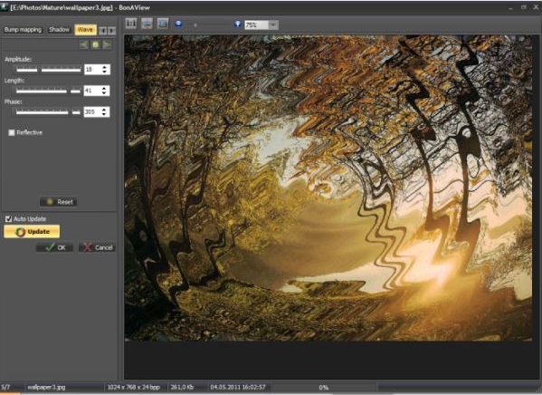 Image Viewer Software, BonAView Screenshot