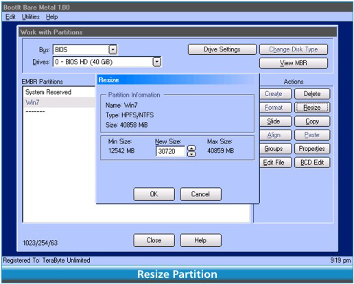 BootIt Collection, Software Utilities Screenshot