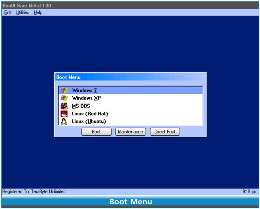 BootIt Collection, Hard Drive Software Screenshot