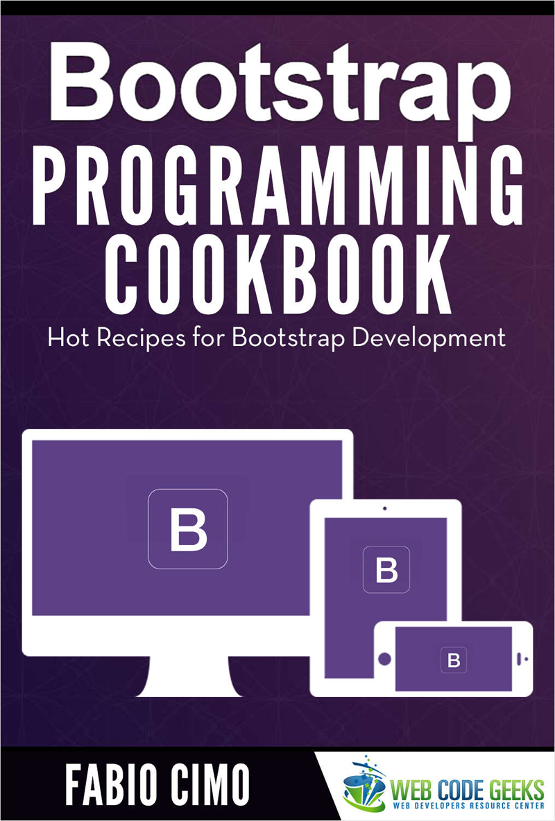 Bootstrap Programming Cookbook Screenshot