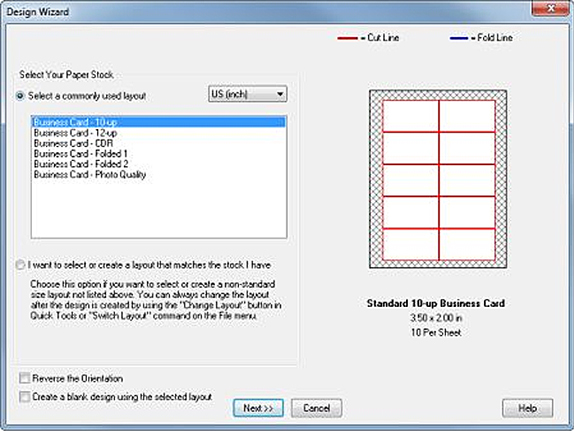 Business Card Designer Plus Screenshot