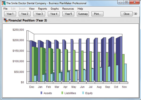 Business PlanMaker Professional 12 Screenshot