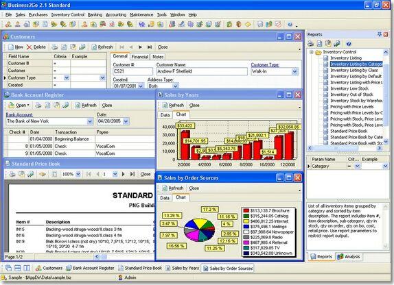 Business2Go Standard Screenshot