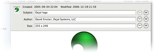 Productivity Software, Caboodle Screenshot